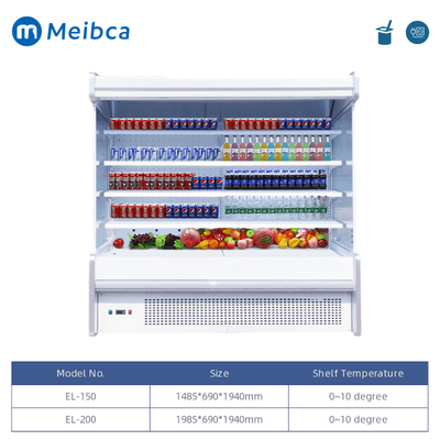 Commercial Multideck Chiller Beverage Dairy Drinks Coolers