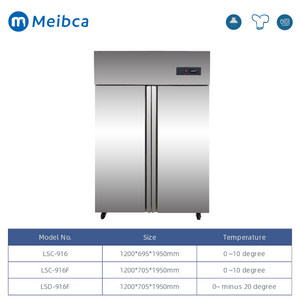 Commercial Hotel Air forced Upright Freezer