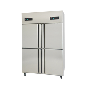 4 Doors Stainless Steel Kitchen Freezer