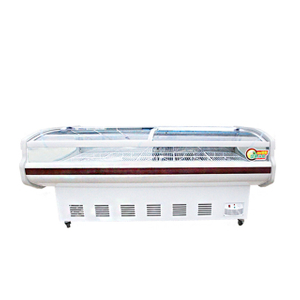 2.0m Deli Meat Display Chiller Refrigerator Showcase